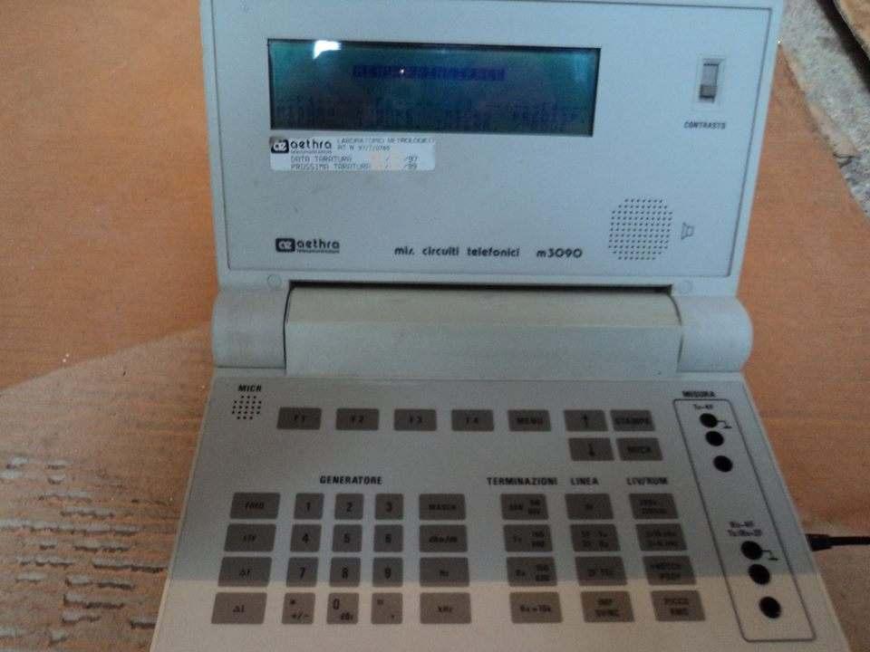 AETHRA M3090 MISURATORE CIRCUITI TELEFONICI