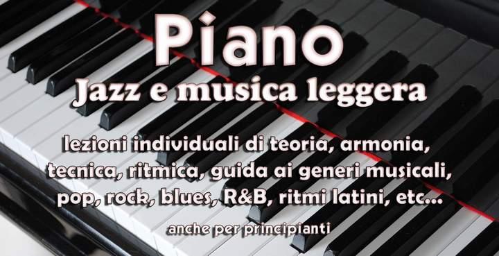 PIANOFORTE Jazz e musica leggera