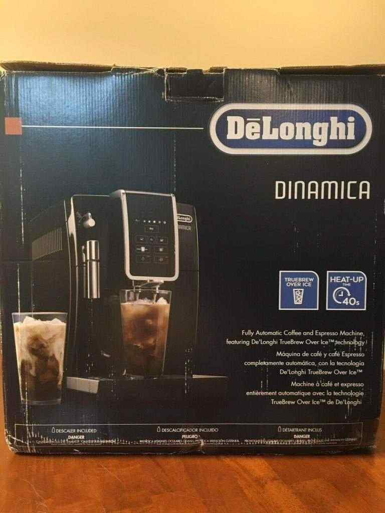 Delonghi Dinamica Fully Automatic Coffee And Espresso