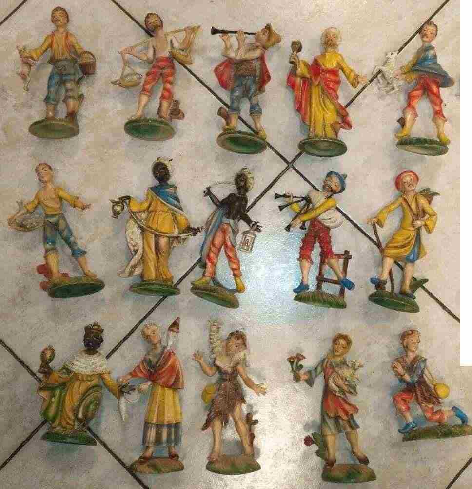 statue presepe e dischi religiosi CERCSI