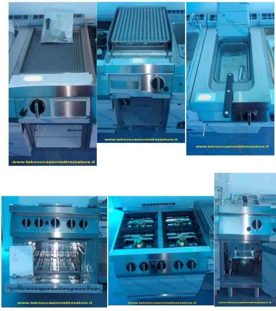 Cucina completa a gas Silko Nuova