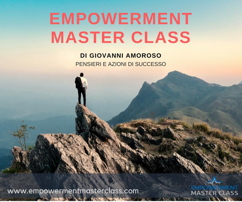 Empowerment Master Class - percorso di sviluppo professionale