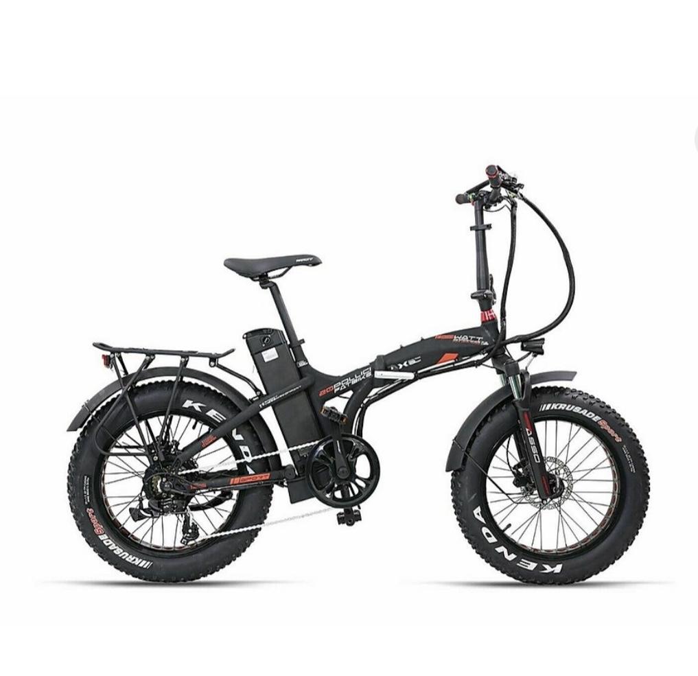 Bici elettrica Fatbike pieghevole Armony Asso