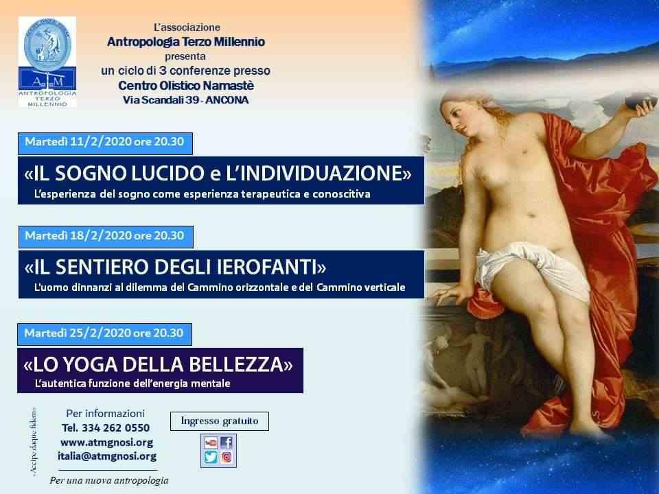 """&quotIl Sogno Lucido e l'Individuazione"""" (ciclo di conferenze ad Ancona)"""
