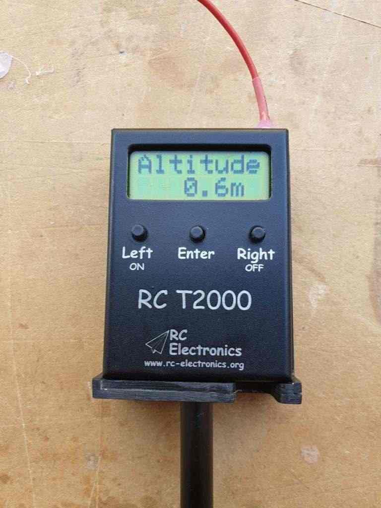 Telemetria VARIO Alianti RC T2000/Altimetro #3 PRO