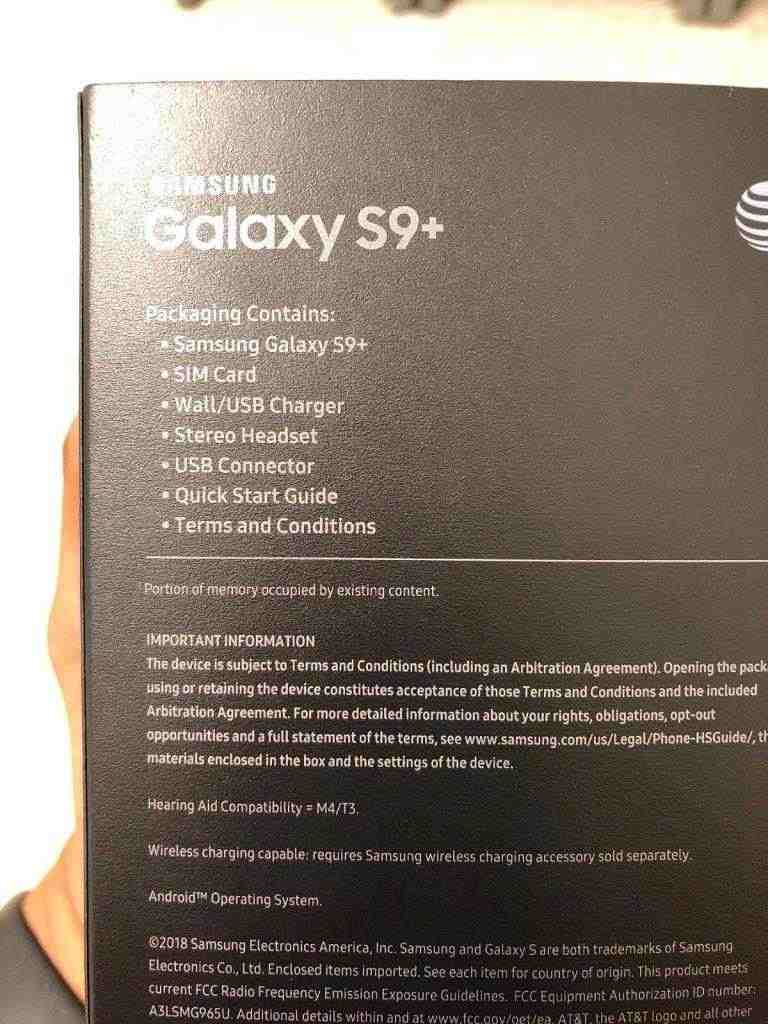 S9 Plus da 64 GB SBLOCCATO