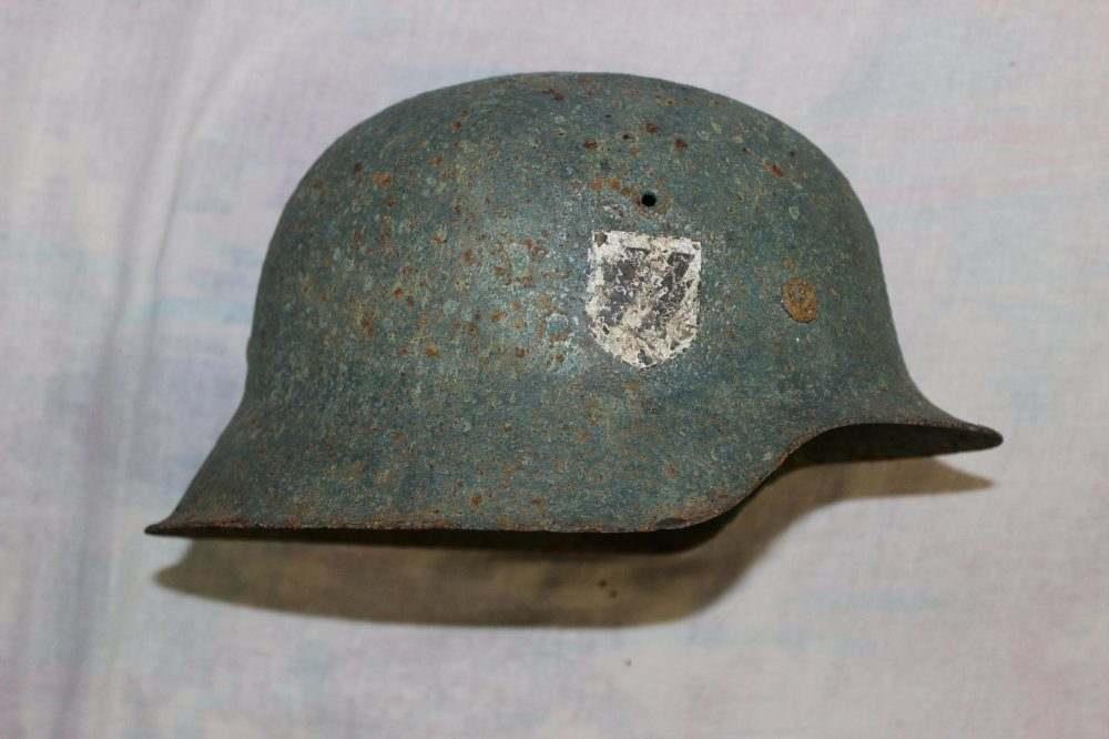 Vendo elmetto Waffen SS M42 originale.