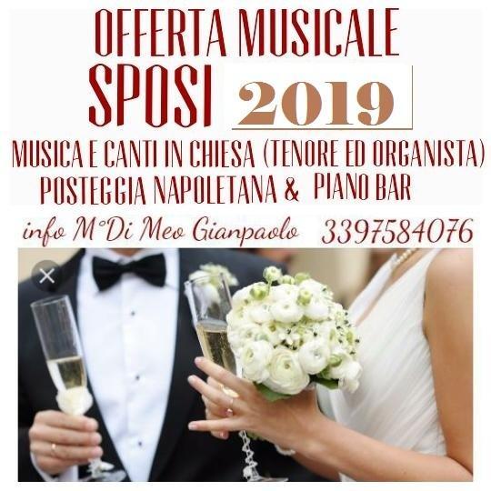 tenore per musica in chiesa - Matrimonio -