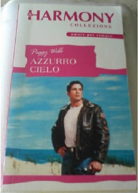 libro AZZURRO CIELO di Peggy Webb