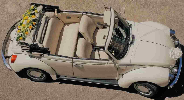 Auto per matrimonio Maggiolino cabrio salerno