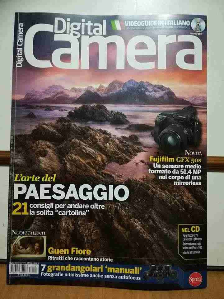 Riviste Digital Camera senza cd dal n. 86 al n. 91 - dal n. 95 al n. 175.In ottimo stato