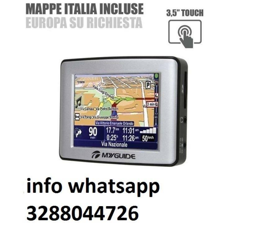 "Navigatore satellitare 3.5"" gps auto myguide 3100 mappe tomtom"