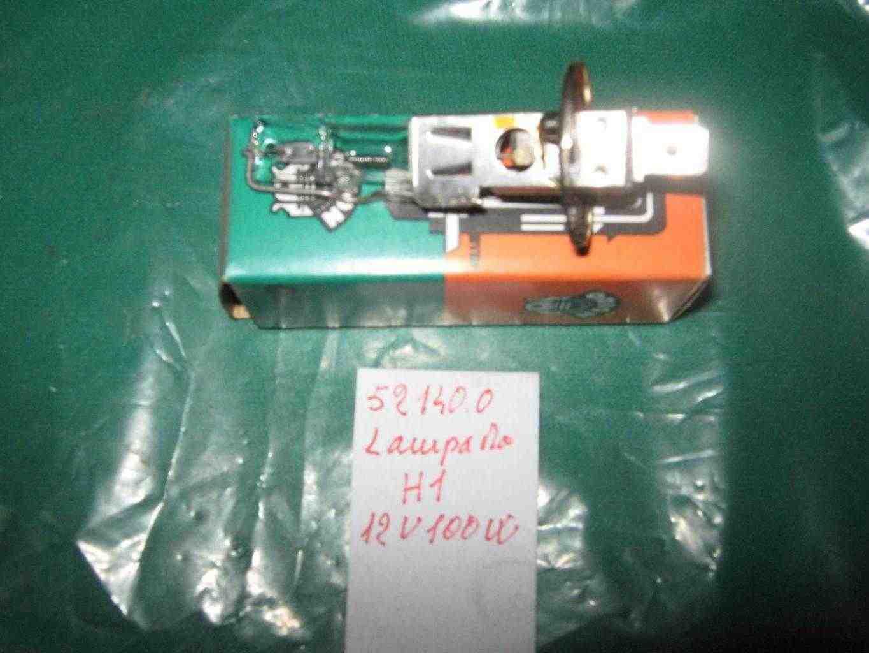 Lampada H1-100 w per proiettori anteriori vetture d'epoca