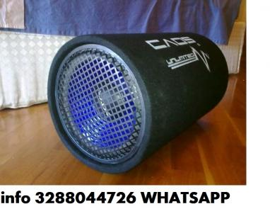 Subwoofer attivo 25cm tubo reflex 10 600w