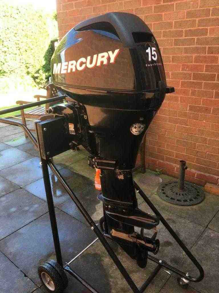 Mercury 15 HP fuoribordo motore
