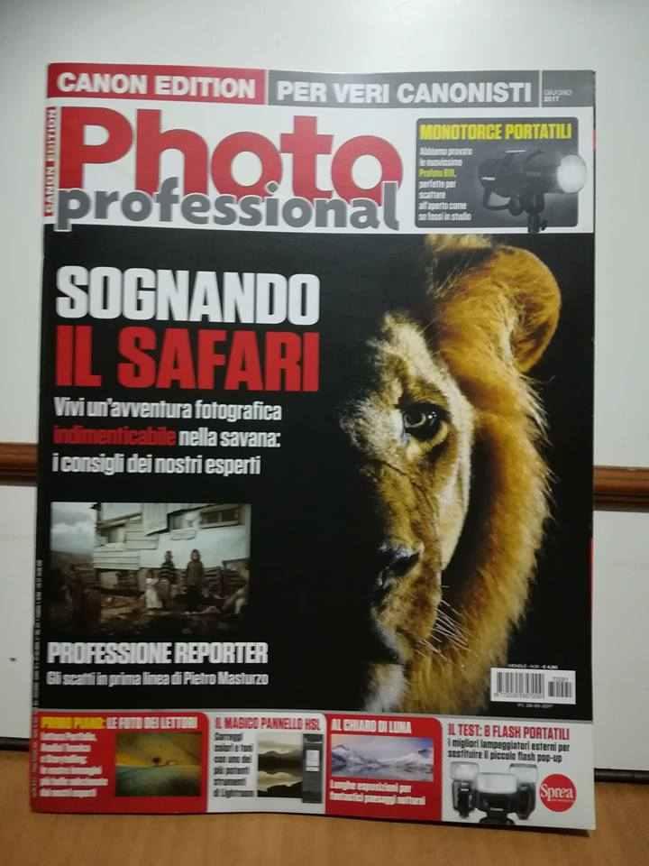 Riviste Photo professional Canon edition. Dal n. 12 al n. 91 - tutte in blocco