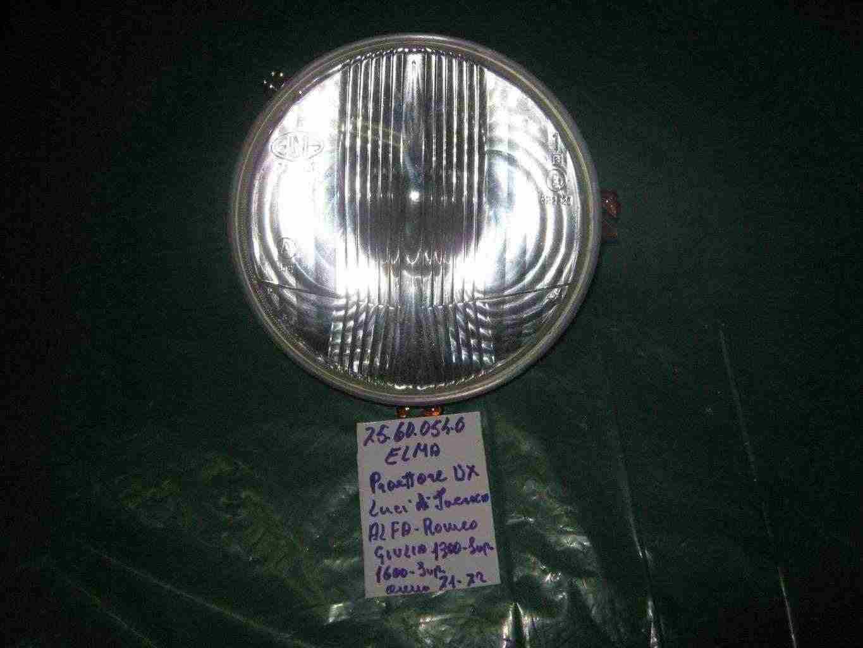 Proiettore Alfa romeo Giulia 1300-1600 d'epoca