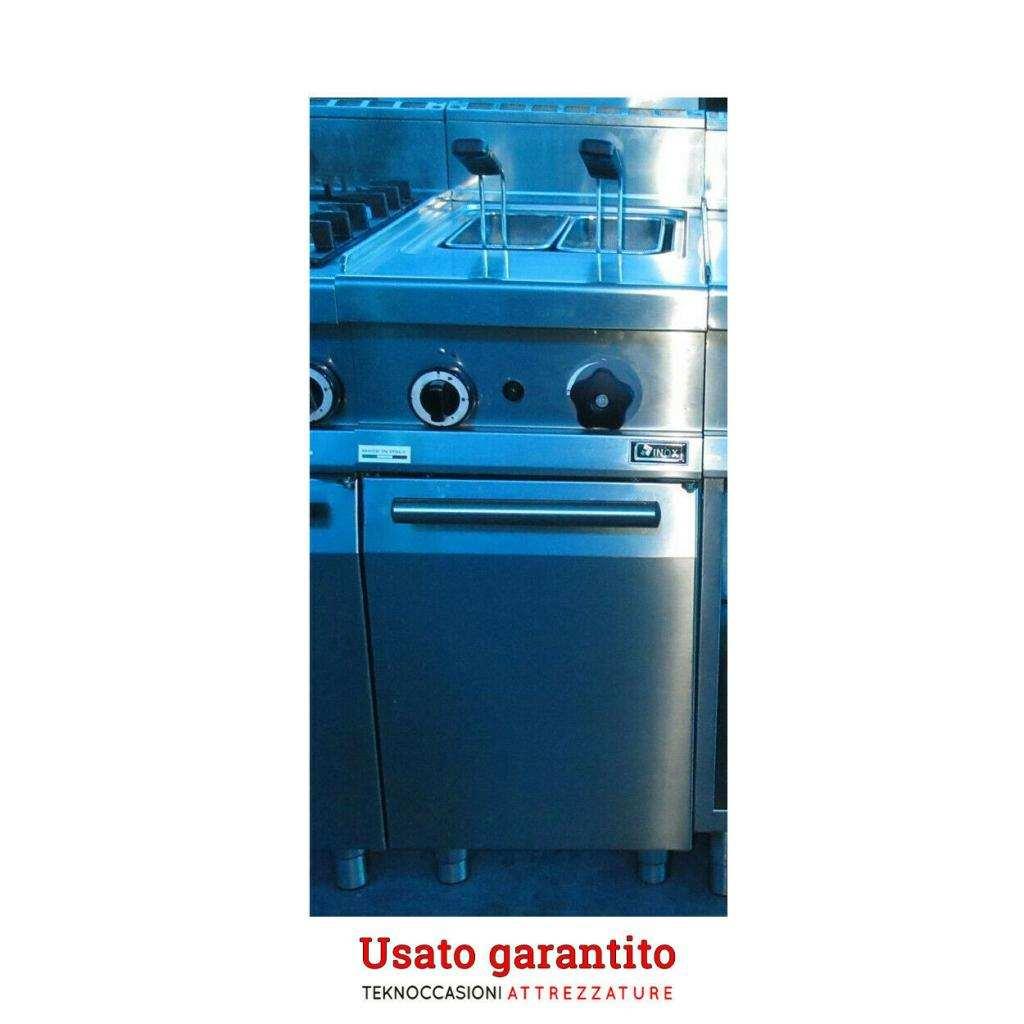 Cuoci pasta a gas 26 litri Emmepi usato solo in fiera