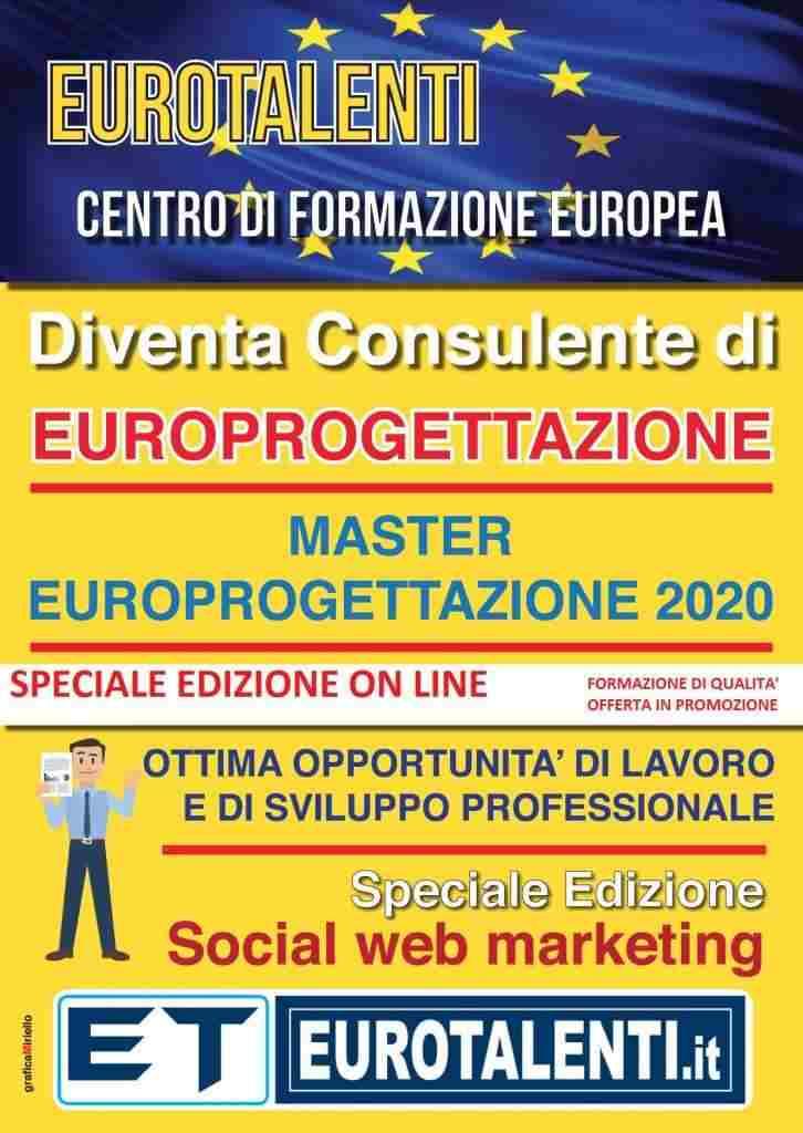 #EUROPROGETTAZIONE #LAVORO  on line #EUROTALENTI