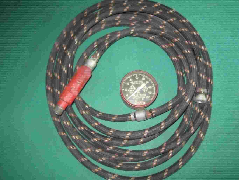 Pompe per gonfiare ruote medoti anni 30 d'epoca