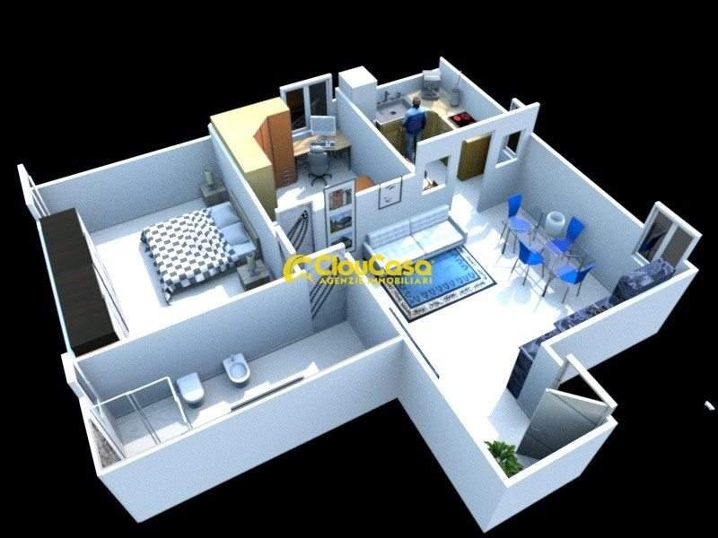 Aprilia Fossignano Appartamento in piccola palazzina