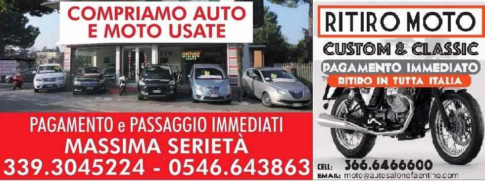 RITIRIAMO AUTO USATE - PAGAMENTO PASSAGGIO IMMEDIATO
