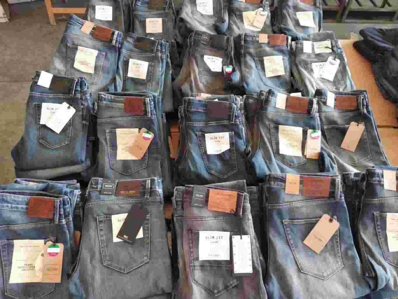 NUOVO Stock 600pz. jeans uomo JACK & JONES seriati - 11,50€/pz.