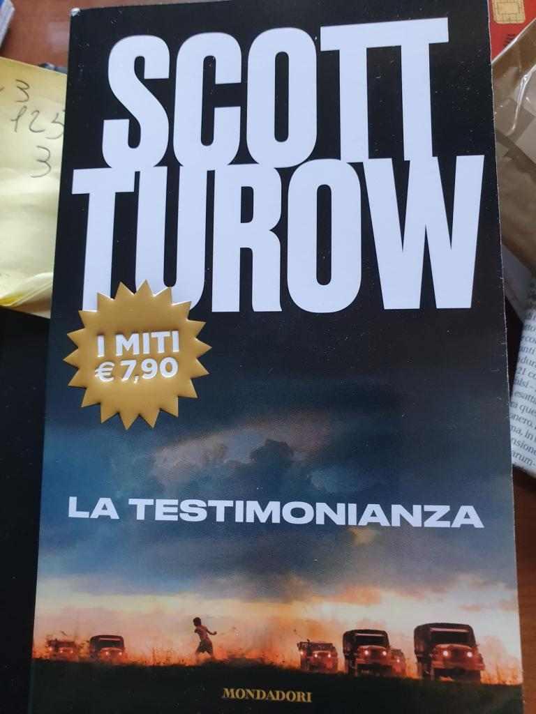 SCOTT TUROW La  testimonianza