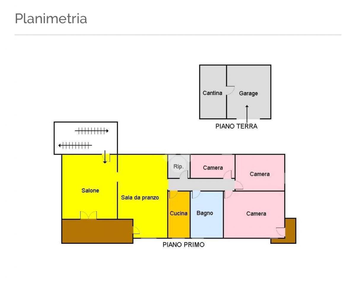 Appartamento+garage+giardino+cantina+2p.auto+