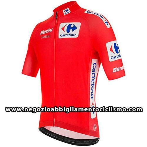Abbigliamento ciclismo Vuelta Espana | Rosso 2020