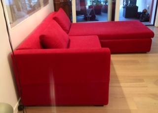 divano Ikea con penisola