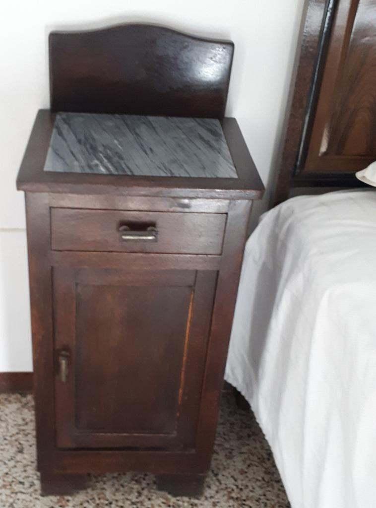 Vendo camera da letto antica