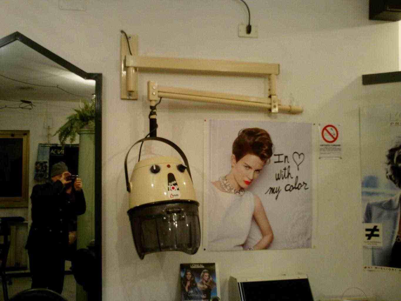 Caschi asciugacapelli da muro professionale Ceriotti