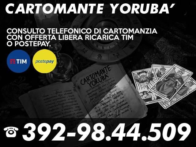 yoruba esoterismo - servizio telefonico di cartomanzia