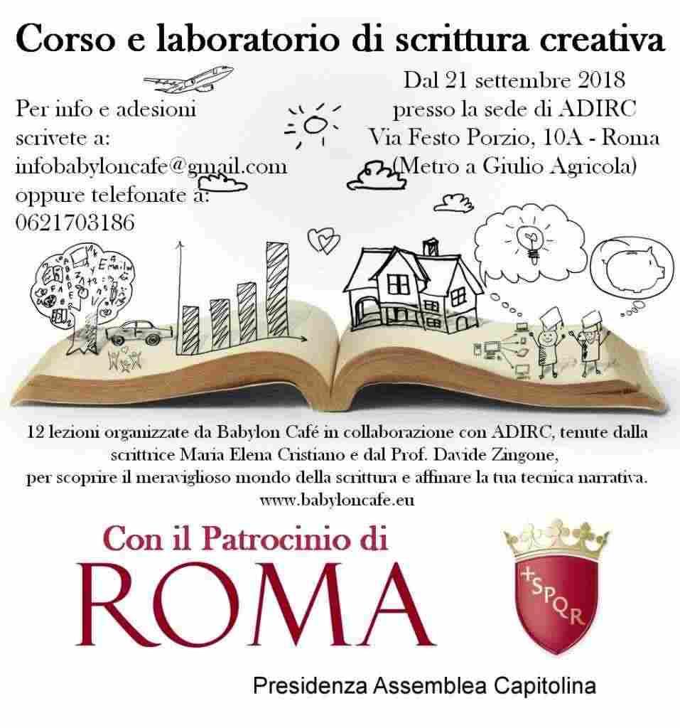 Corso e Laboratorio Pratico di Scrittura Creativa