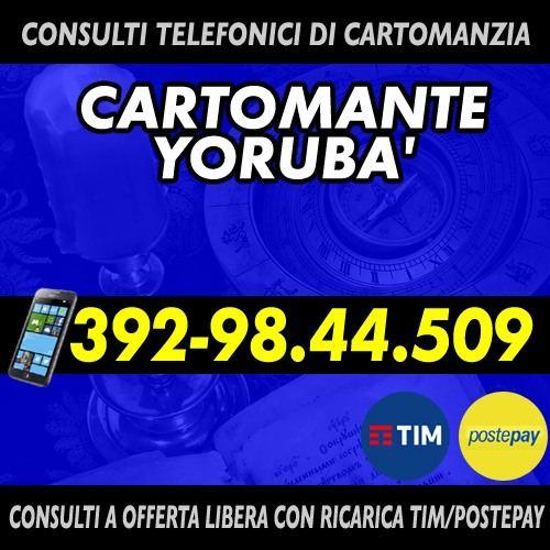 Si offre un consulto telefonico di Cartomanzia con offerta libera