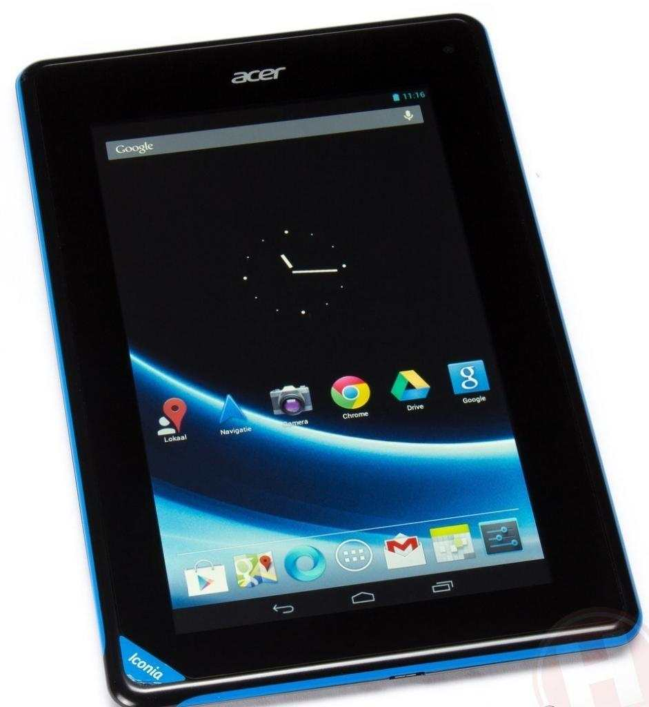 Tablet ACER Iconia 7'' con scatola e accessori