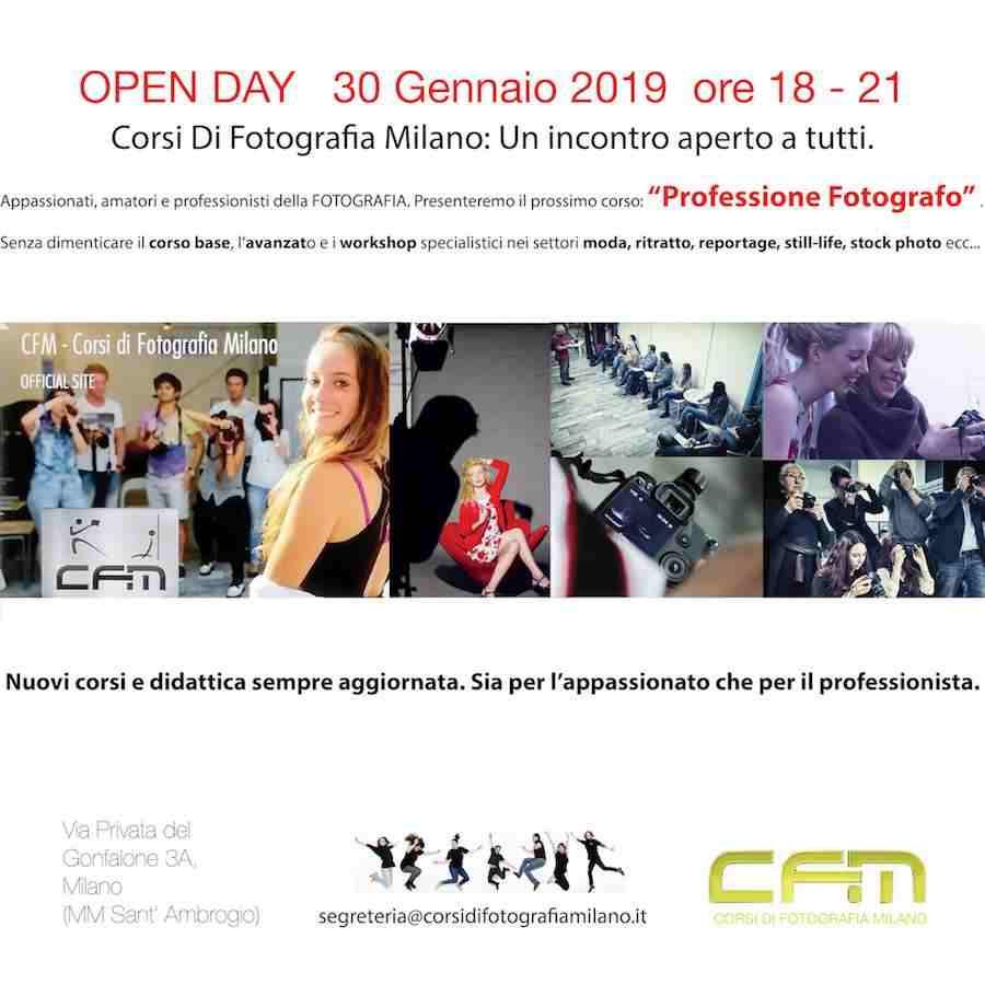 Open Day Fotografia Milano