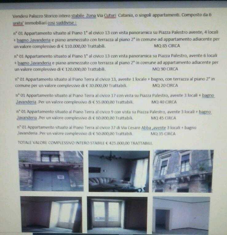 Vendo un insieme di 5 Appartamenti