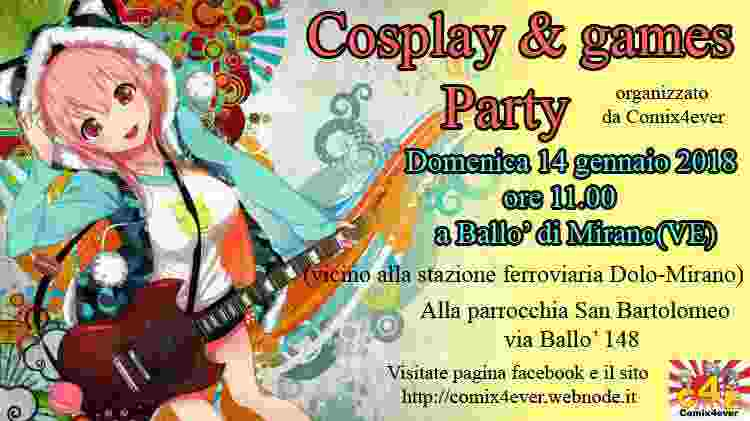 Cosplay & games party