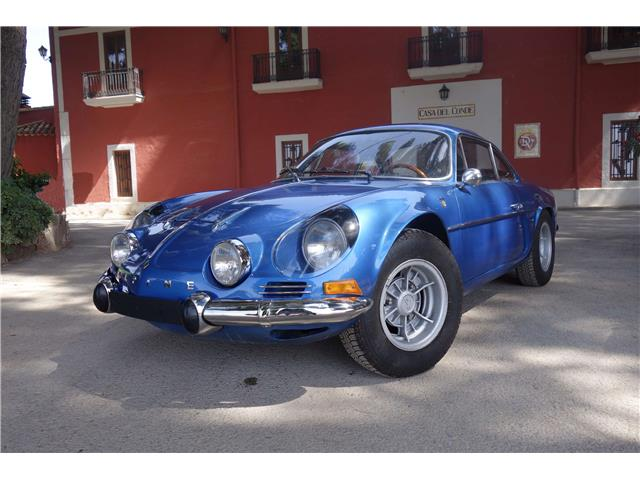 Renault Alpine A110 Coupe