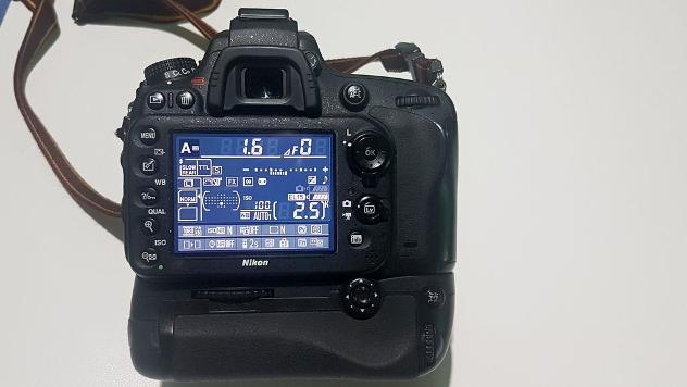 Vendo Nikon D610 con battery grip