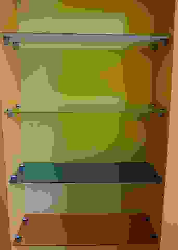 Mensole vetro colorate
