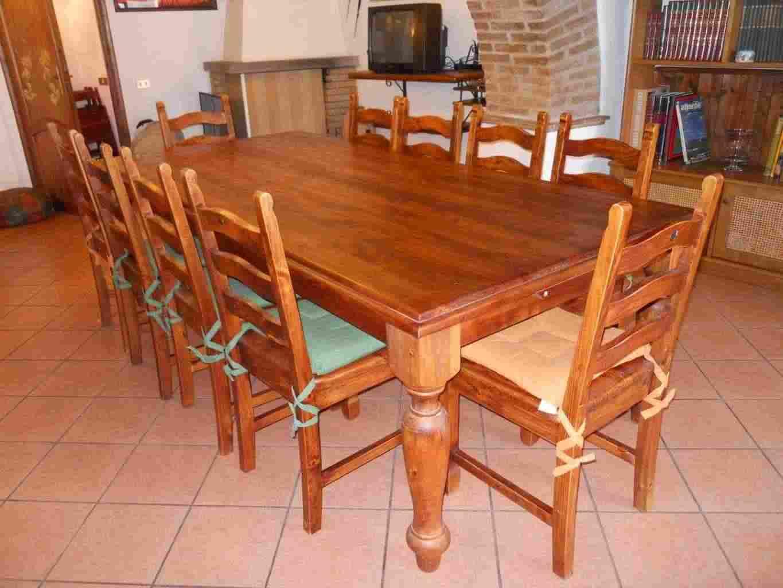 tavolo 250 x 120 + 10 sedie