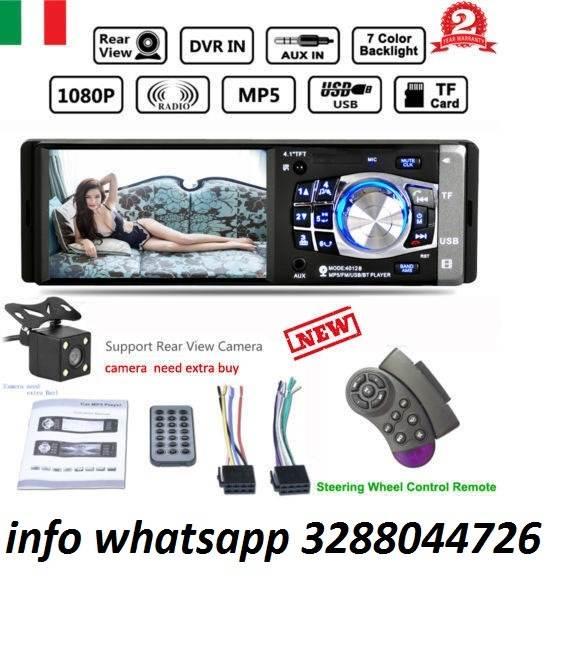 Autoradio bluetooth auto lettore mp5 mp3