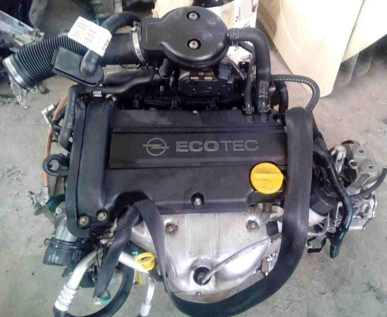 Motore Opel Agila / Corsa 1200 16 valvole Z12XE