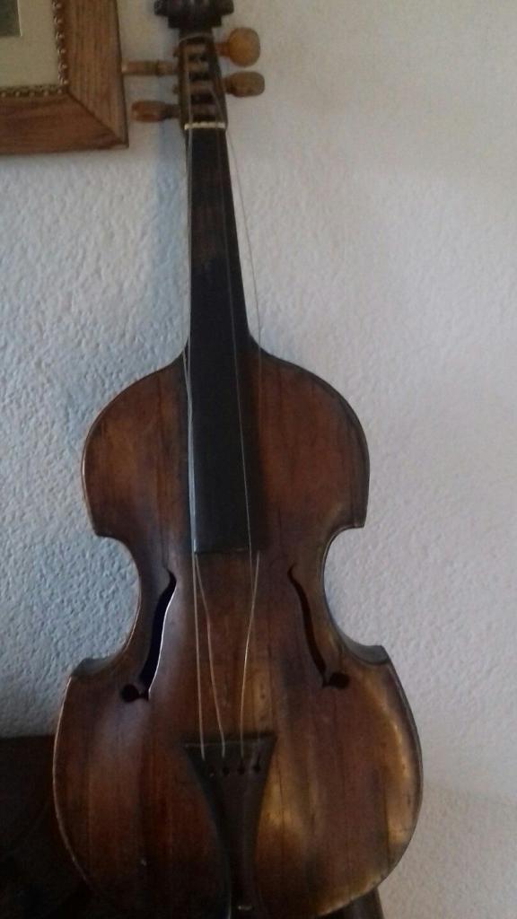 Violino viola Johann George Beer 1780