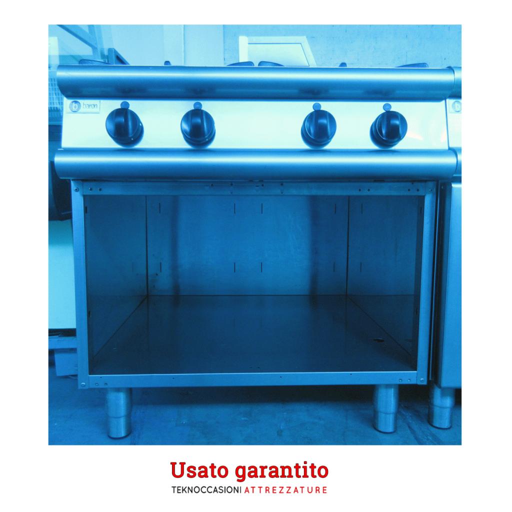 Cucina a gas Baron serie 90 usata garantita