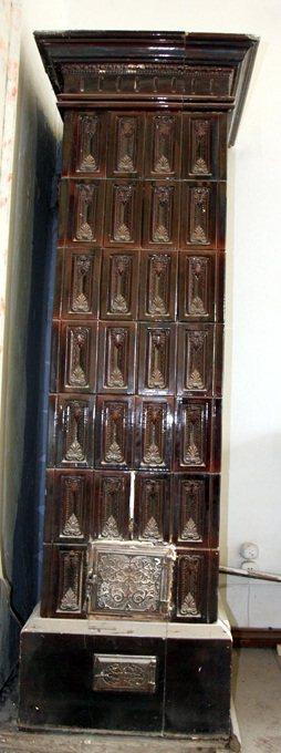 Mattonelle in maiolica per stufa