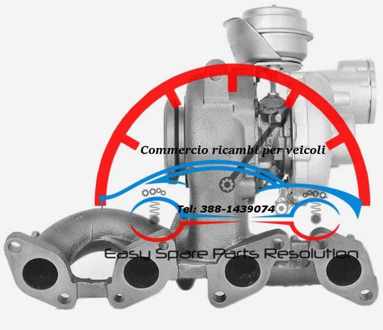 03C145702L Turbina Volkswagen Golf 1.4 V serie Variant